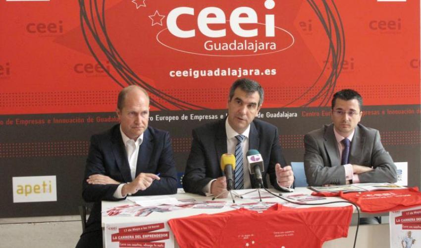 El CEEI de Guadalajara presenta su I Carrera del Emprendedor para el próximo 17 de mayo