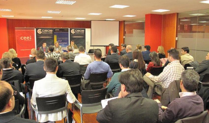 CEOE-CEPYME Guadalajara y el CEEI alcarreño realizan, junto a Telefónica, una jornada sobre las nuevas formas de trabajar a través de las nuevas herramientas digitales