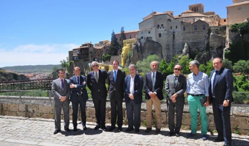 Los secretarios generales de las organizaciones empresariales de Castilla-La Mancha y de la Comunidad Valenciana se reúnen para alcanzar sinergias entre ambas organizaciones empresariales