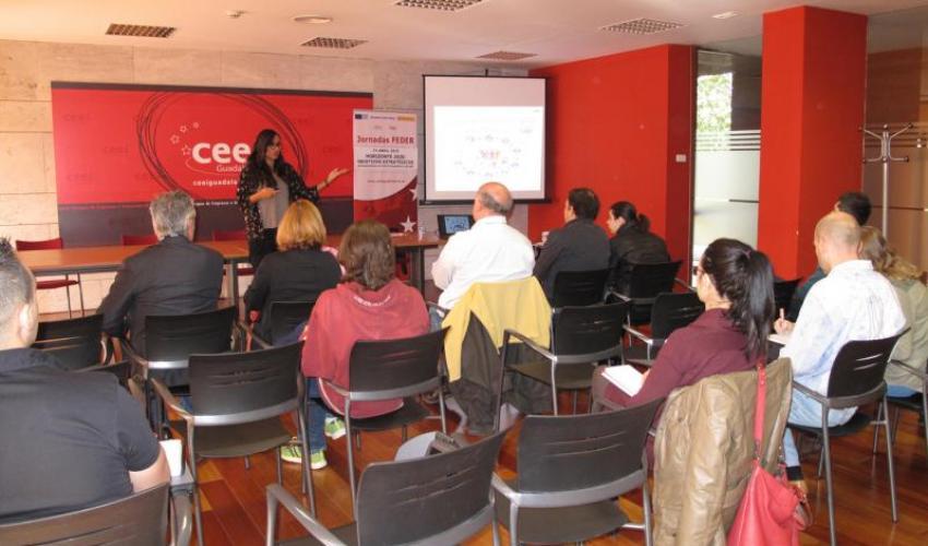 Los objetivos estratégicos de Horizonte 2020 se muestran en el CEEI de Guadalajara