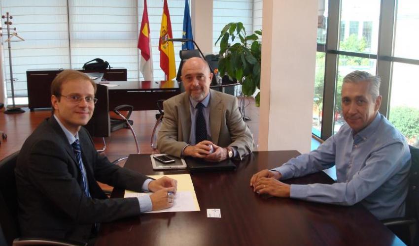 CEAT Castilla-La Mancha traslada al viceconsejero de empleo sus propuestas para los autónomos de la región