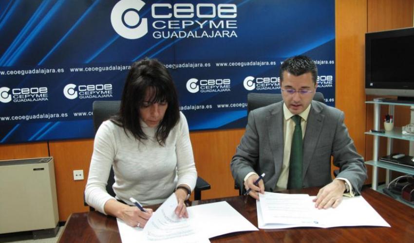 """El AMPA del instituto valle del henares de Jadraque se une al proyecto """"de socio a socio"""" de CEOE-CEPYME Guadalajara"""