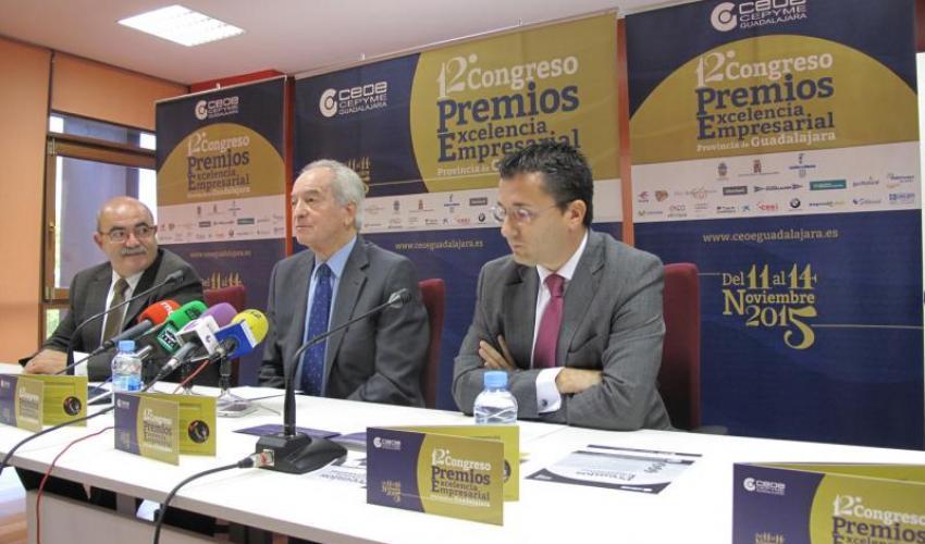 Agustín de Grandes presenta el 12º Congreso Empresarial y los Premios Excelencia Empresarial 2015