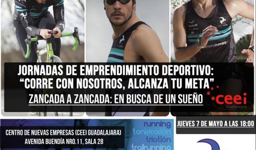 El CEEI de Guadalajara organiza una jornada de emprendimiento deportivo para el próximo jueves 7 de mayo