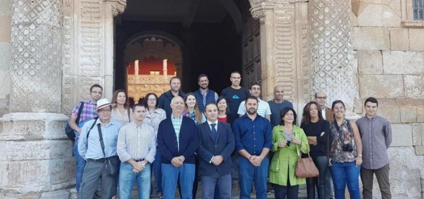 Una veintena de medios de comunicación 'descubren' el viaje a La Alcarria de Cela de la mano de la Diputación y CEOE-CEPYME