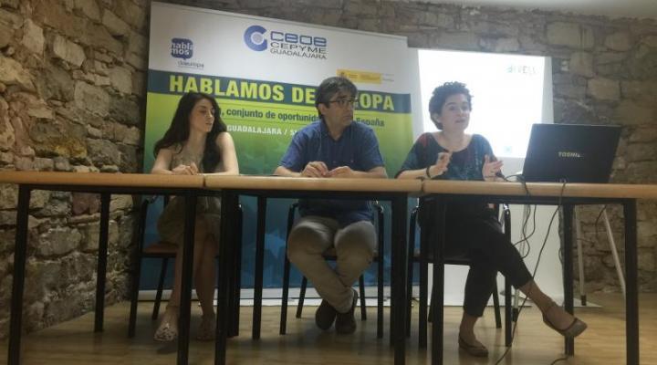 Sigüenza acoge una nueva jornada del ciclo Hablemos de Europa, organizada por CEOE-CEPYME Guadalajara