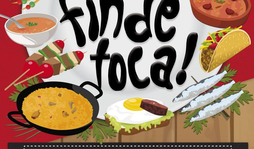Vuelve este finde toca…con tapas en tortilla, del viernes 7 al domingo 9 de octubre