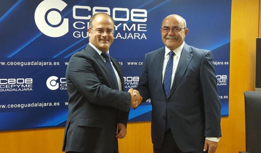 Nuevo acuerdo de colaboración de Gas Natural  Castilla- La Mancha y CEOE-CEPYME Guadalajara
