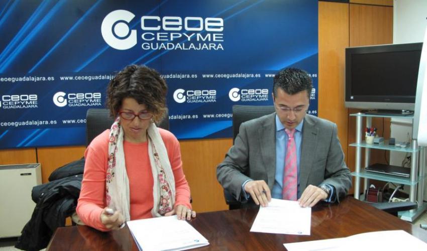 """El AMPA CEIP La Espiga de Azuqueca de Henares se une al proyecto """"de Socio a Socio"""" de CEOE-CEPYME Guadalajara"""