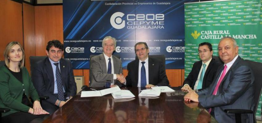 Caja Rural Castilla-La Mancha habilita 60 millones para dar crédito a los empresarios de Guadalajara