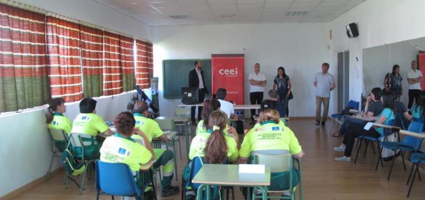 Finaliza el ciclo de jornadas de emprendimiento e innovación del CEEI de Guadalajara y el Ayuntamiento de Torrejón del Rey