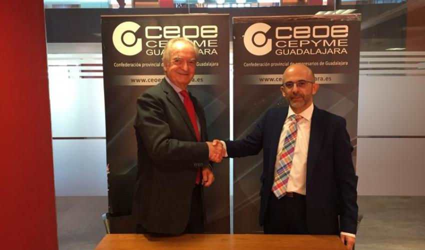 CEOE- CEPYME Guadalajara firma un nuevo convenio con Asesoría Toledo