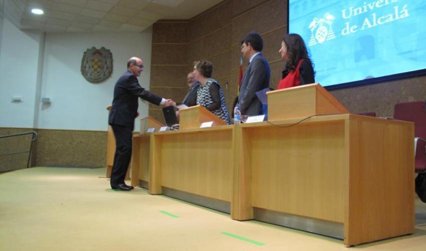 CEOE-CEPYME Guadalajara recibe un diploma de la UAH por su colaboración en las prácticas para los alumnos