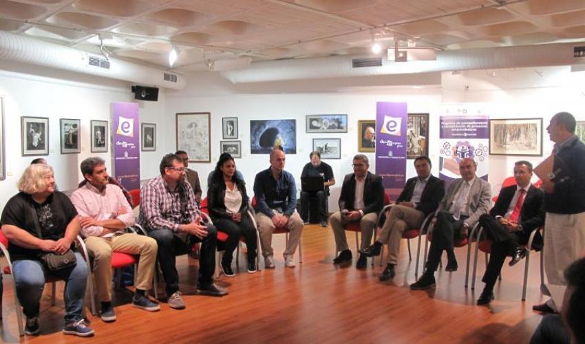 La Diputación presta ayuda personalizada a 35 emprendedores impulsando la creación de empleo