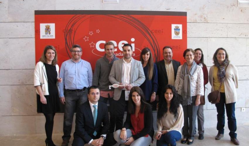 Entregadas las llaves de sus despachos a las nuevas empresas del CEEI de Guadalajara