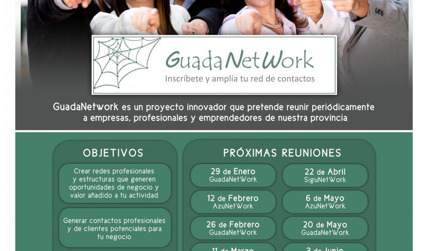 GuadaNetWork prepara  10 nuevos encuentros para el primer semestre de 2016, con el objetivo de seguir acercando empresas