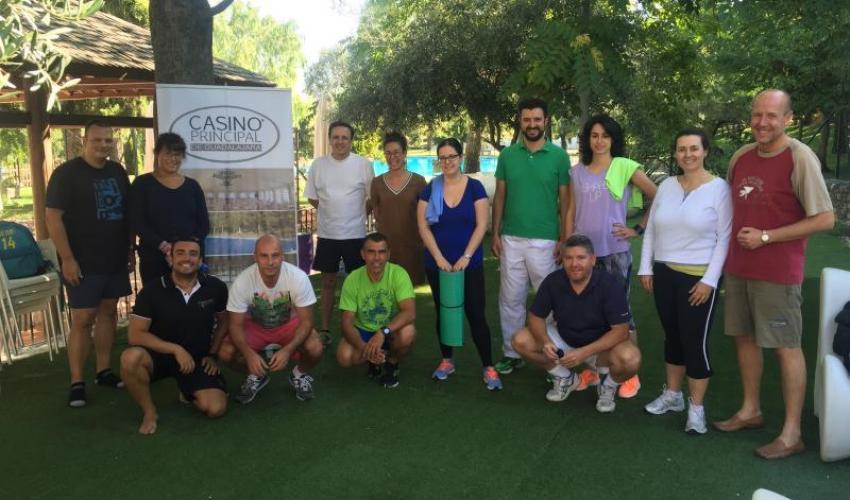 GuadaNetWork continúa en verano haciendo deporte