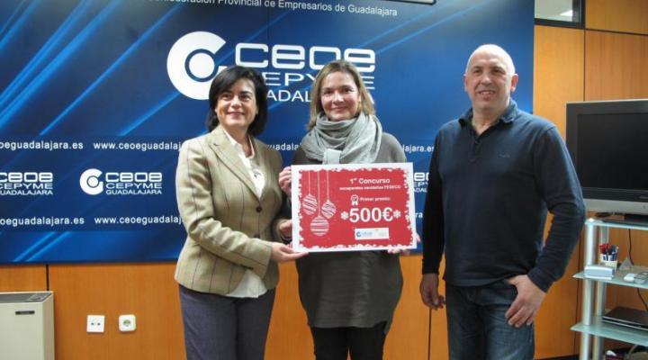 ADUO gana el I concurso de escaparates de Navidad de FEDECO