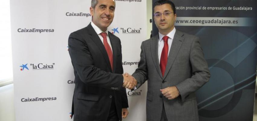 CEOE-CEPYME Guadalajara y la Obra Social de La Caixa firman un convenio de colaboración para la realización de cuatro talleres formativos