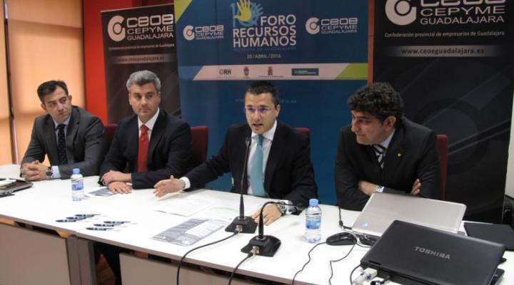 El  Foro de Recursos Humanos de la provincia de Guadalajara, organizado por CEOE celebra su décimo encuentro con gran éxito de participación