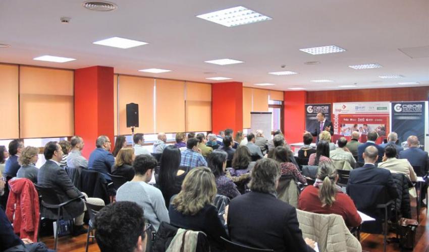 """Un centenar de empresarios y directivos se forman en liderazgo y habilidades en ventas con el seminario """"Top Dirección"""""""