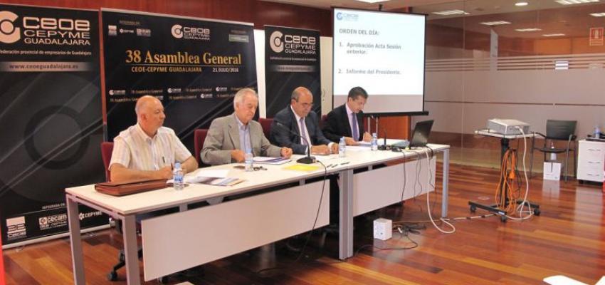 CEOE-CEPYME Guadalajara celebra su XXXVIII Asamblea General