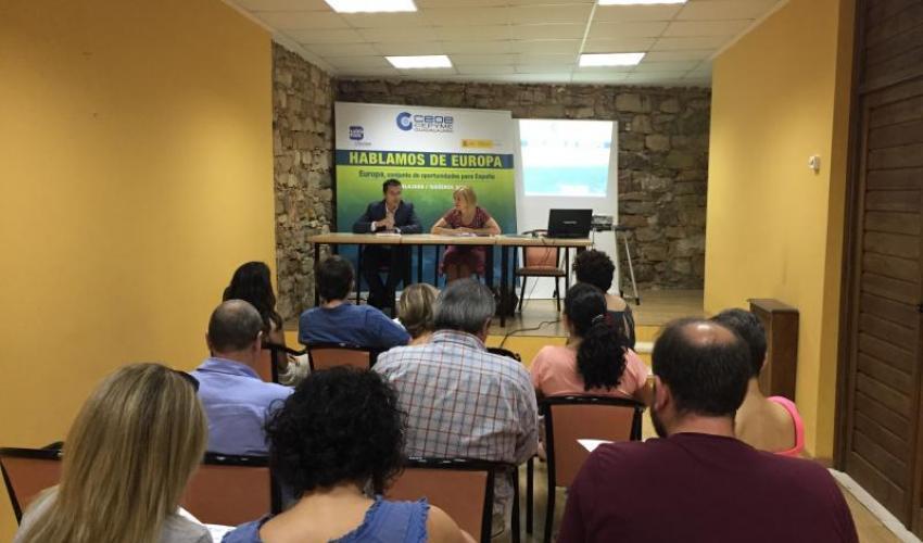 Concluye el ciclo de jornadas de Hablamos de Europa de CEOE-CEPYME Guadalajara