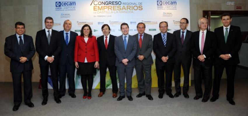 CECAM presenta el `Plan estratégico de la PYME de Castilla-La Mancha´ en su 7º Congreso regional de empresarios
