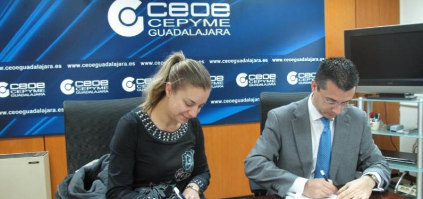 """El AMPA del Colegio Romualdo de Toledo de Jadraque se une al proyecto """"de socio a socio"""" de CEOE-CEPYME Guadalajara"""
