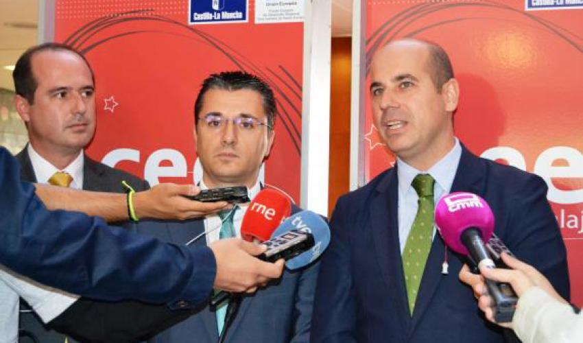 El Gobierno regional destaca la importancia de los Centros Europeos de Empresas en el desarrollo del Pacto por la Recuperación Económica de Castilla-La Mancha
