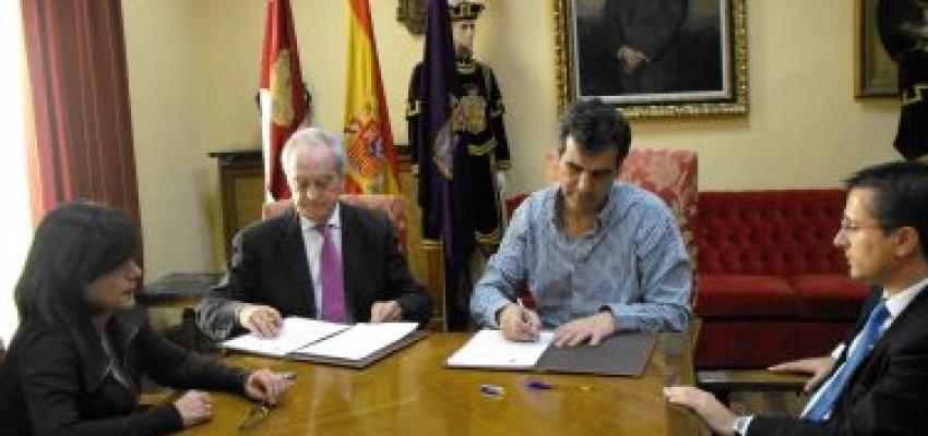 El Ayuntamiento de Guadalajara suscribe un convenio con la Fundación Centro Europeo de Empresas e Innovación