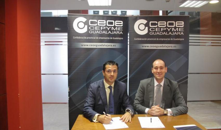 CEOE- CEPYME Guadalajara renueva su convenio con Prodatos Alcarria