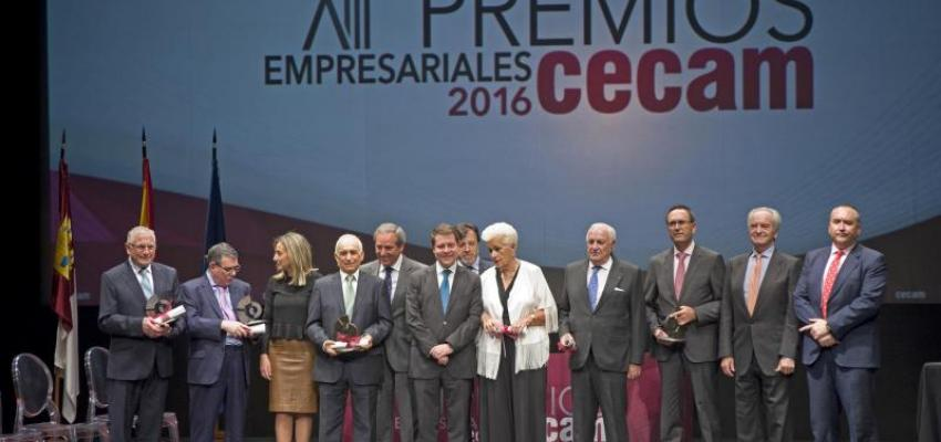 CECAM reconoce el papel fundamental de los empresarios en sus XIII Premios Empresariales