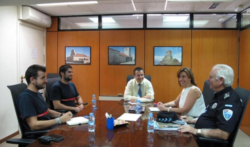 La Concejalía de Seguridad pondrá en marcha un programa de prevención en empresas e industrias de la ciudad