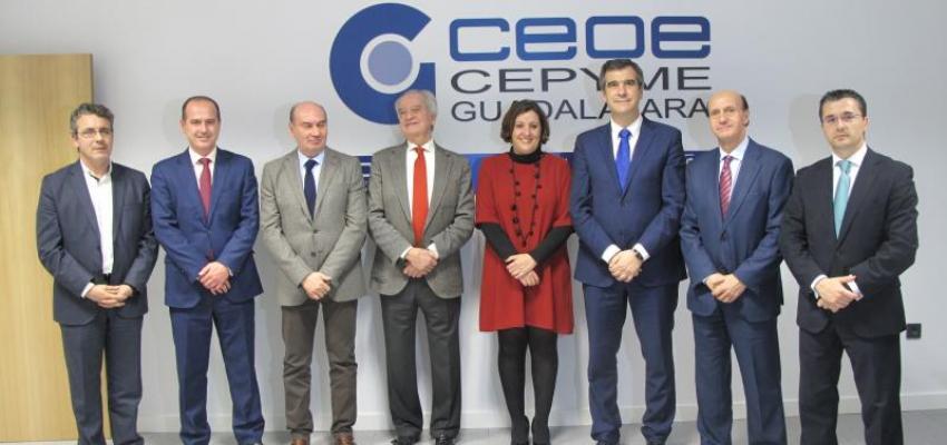 CEOE-CEPYME Guadalajara inaugura un nuevo Centro de Formación y Negocios