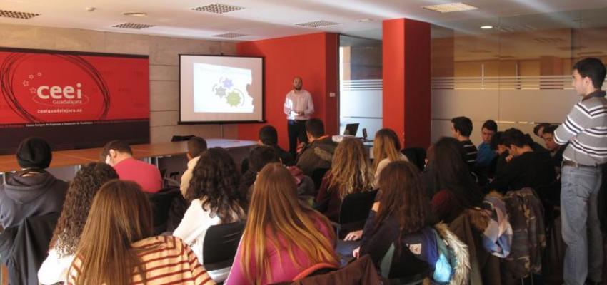 El CEEI  continúa con la promoción del emprendimiento innovador en la provincia de Guadalajara