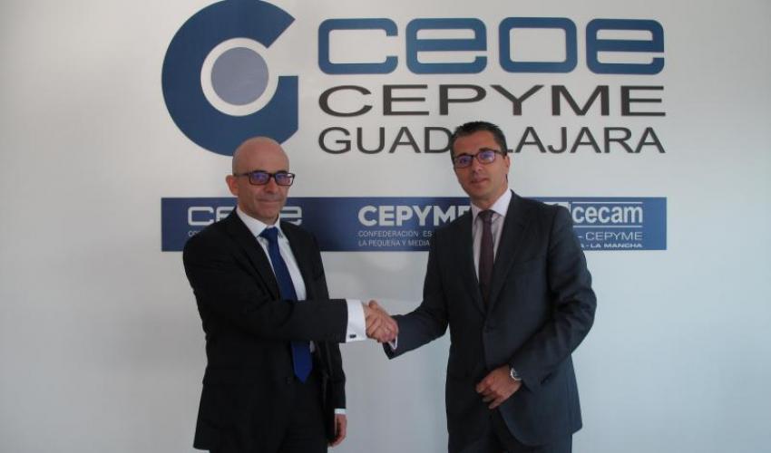 CEOE- CEPYME Guadalajara y Asesoría Toledo renuevan su convenio de colaboración
