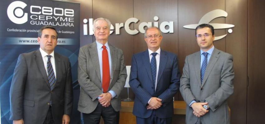 Ibercaja y CEOE-CEPYME Guadalajara, renuevan su colaboración