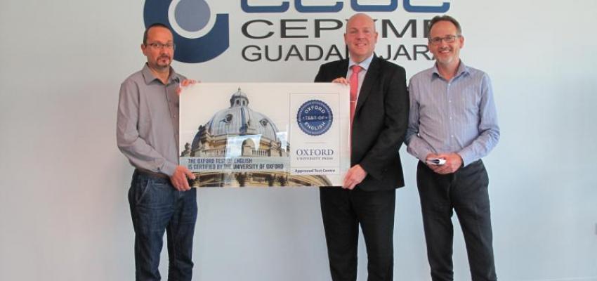 CEOE-CEPYME Guadalajara ya es centro examinador de Oxford University Press