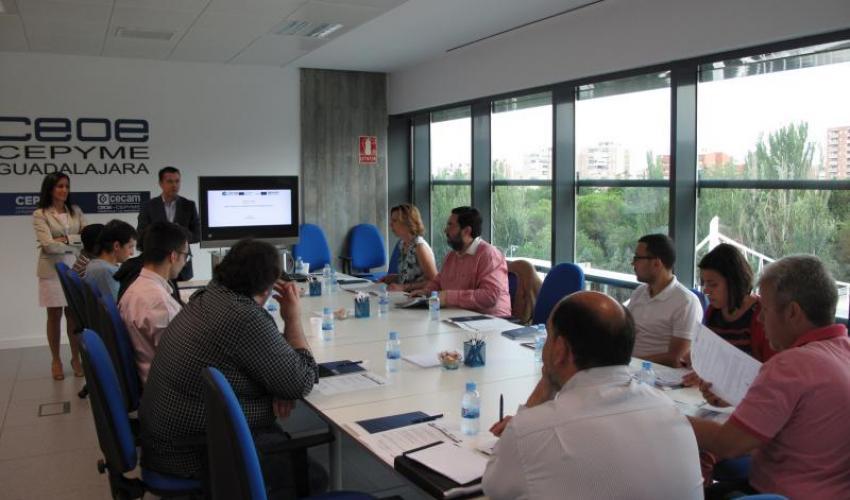 Empresarios de Guadalajara se informan de los principales instrumentos de financiación internacional