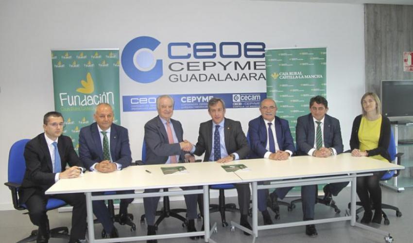 Caja Rural CLM proporciona 60 millones a los empresarios alcarreños para financiar sus distintas áreas de negocio