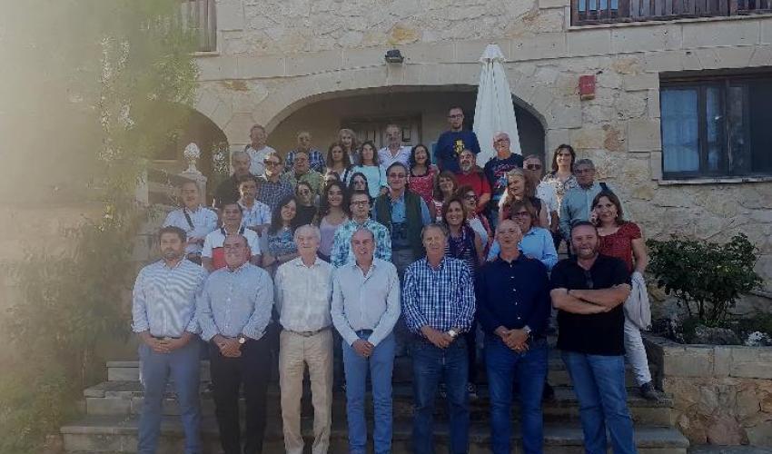 Más de 30 periodistas conocen parte del Geoparque de Molina-Alto Tajo de la mano de Diputación y CEOE