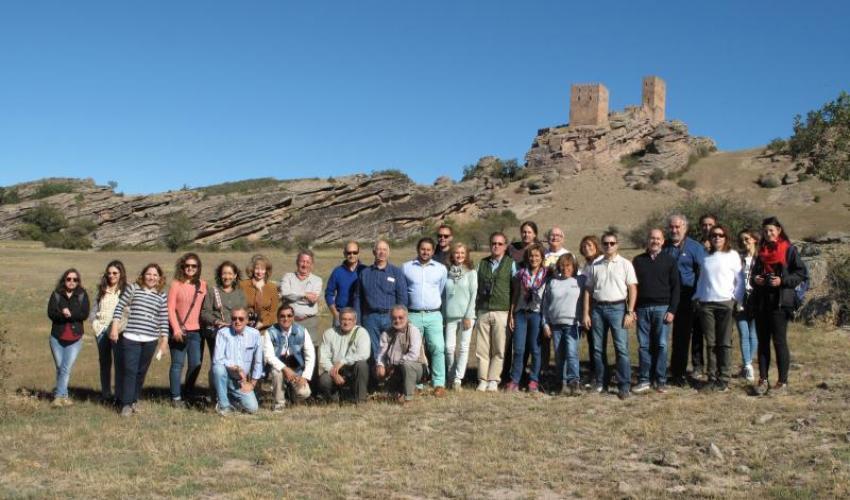 Gran éxito del viaje al Geoparque de la Comarca de Molina-Alto Tajo con medios especializados