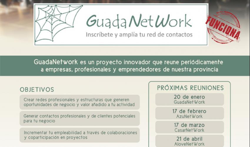 GuadaNetWork prepara 7 nuevos encuentros para el primer semestre de 2017, con el objetivo de seguir acercando empresas