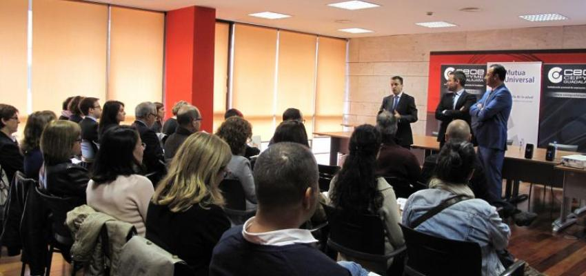 Empresarios de Guadalajara se informan sobre el bonus prevención