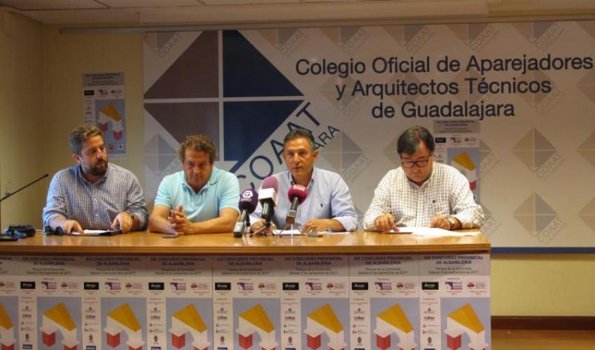 Presentado el XIX concurso de albañilería de la provincia de Guadalajara