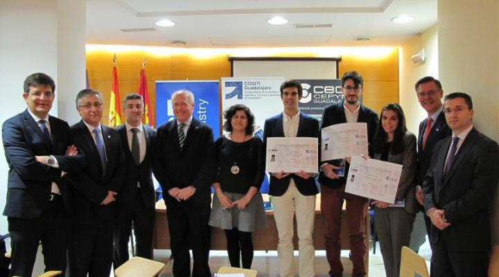 Entregados los premios del I concurso de diseño industrial del mueble para estudiantes de la UAH