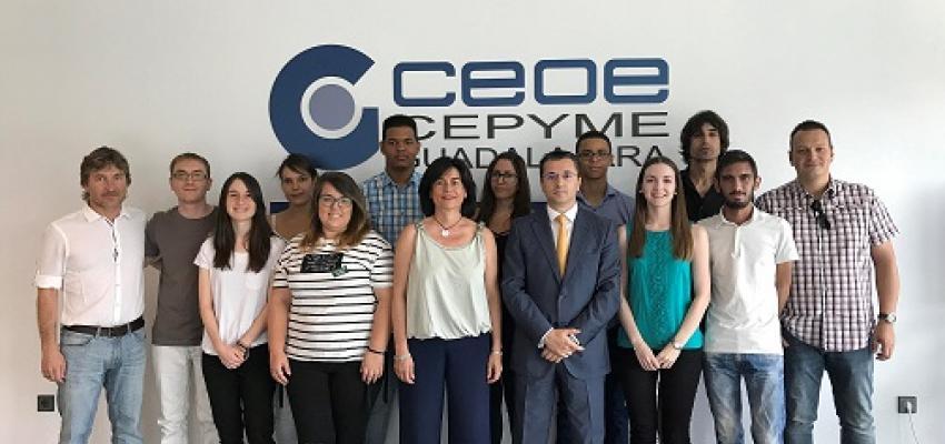 Entregados los diplomas del curso de Community Manager de EOI y Ayuntamiento de Guadalajara