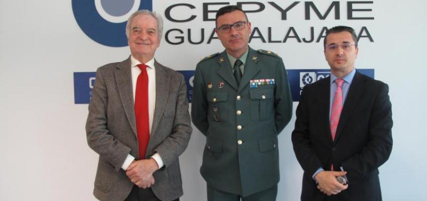 CEOE-CEPYME Guadalajara y la Comandancia de la Guardia Civil de Guadalajara, colaboran para formar a los suboficiales en materia de inteligencia emocional