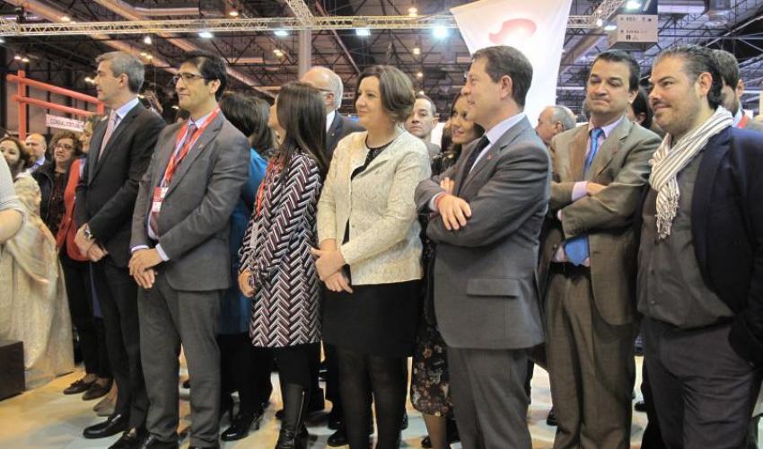 La Federación Provincial de Turismo de Guadalajara ha estado presente en la inauguración de Fitur 2017
